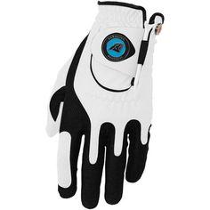 Carolina Panthers Left Hand Golf Glove & Ball Marker Set - White - $24.99