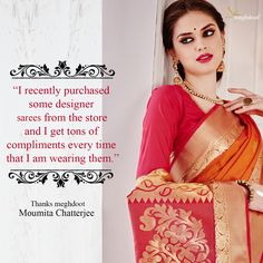 #customertestimonials #sarees #fashion #style Customer Feedback, Compliments, Sarees, Thankful, Design, Style, Fashion, Swag, Moda