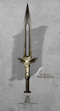 The Sword of the Enders by TheEnderling Fantasy Sword, Fantasy Armor, Fantasy Weapons, Zombie Weapons, Anime Weapons, Arsenal, Weapon Concept Art, Knives And Swords, Katana