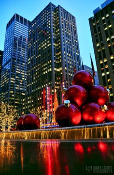 Decorating The City - Radio City Music Hall - New York by...