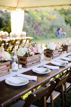 25 Tables To Inspire Your Next Outdoor Dinner Party
