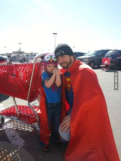 Ran into these two at Target. Parenting done right.