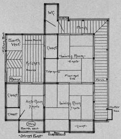 Traditional Japanese Home Floor Plan Cool Japanese House Plans - Japanese house floor plans