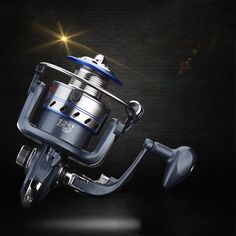 2017 New Sport Plastic Electroplating Spinning Wheel Fishing Vessel 12+1 Wire Cup metal Fishing Reel Spinning Reel free shipping #Affiliate