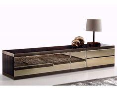 ASPEN Тумба для гостиной by Fratelli Longhi дизайн Giuseppe Viganò
