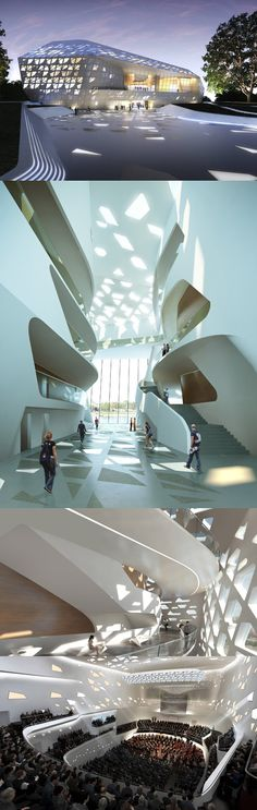 Beethoven Concert Hall Bonn, Germanu by Zaha Hadid Architects #Zaha #Hadid #design