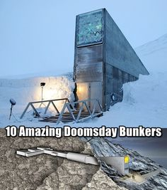 10 Amazing Doomsday Bunkers - WW3 is breaking out, the nuclear bombs are going off, where would you go? You may not know, but powerful individuals around the world have a plan in case of such event, and it doesn't include you.