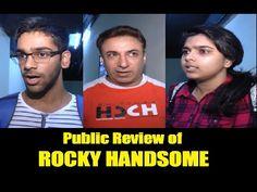 Public Review of ROCKY HANDSOME movie | John Abraham, Shruti Haasan.