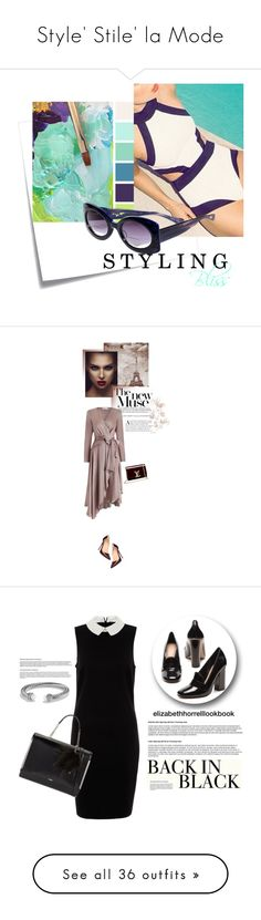 """Style' Stile' la Mode"" by luiwi ❤ liked on Polyvore featuring Post-It, eyebobs, Christian Louboutin, Zimmermann, Louis Vuitton, romantic, womenfashion, falloutfit, wrapdresses and ALDO"