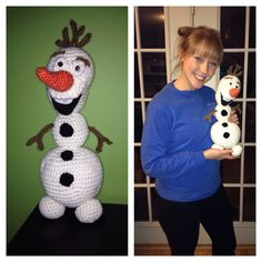 Olaf from Frozen on Etsy, $30.00
