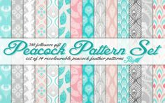 Peacock Pattern Set by Peacemaker ic - Sims 3 Downloads CC Caboodle