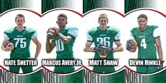 A big thanks to Lawrence North High School from the Indianapolis, IN for reaching out to us to create their custom football banners to help recognize for their senior football players.  The custom football banners feature a photo of the player with their name in team colors with their school mascot.