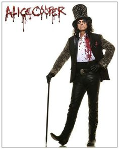 Alice Cooper - Singer, song writer, actor and even late night radio host, he's even been a cartoon character and comic book character.