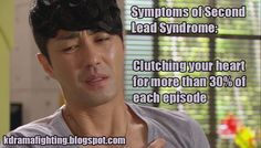 9 Signs that you may be suffering from Second Lead Syndrome. @lindseysaurus89 and @kbee5, y'all might appreciate this! haha