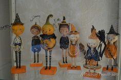 2012 Halloween Folk Art by A Pinch of Prim