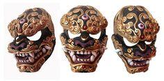 Komainu Kumo Mask by mostlymade on DeviantArt