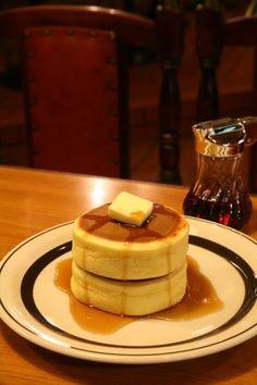 コーヒーショップ ピノキオ : ホットケーキ