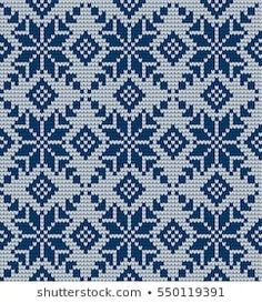 Seamless Knitting Pattern: Similar Images, Stock Photos and Vector Graphics, 418020142 - Cross Stitch Alphabet Patterns, Cross Stitch Art, Modern Cross Stitch, Cross Stitching, Fair Isle Knitting Patterns, Crochet Patterns For Beginners, Knitting Stitches, Willow Weaving, Boyfriend Crafts