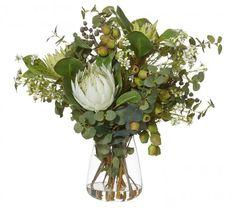 Native Mix Green in Tub Vase