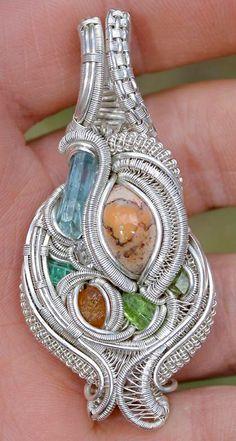 ©Freshh Wraps #wirewrap #jewelry #wirewrapjewelry