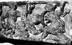 Davide contro Golia, avorio egiziano, VI-VII sec. / David vs Goliath, egyptian ivory, 6th-7th century