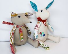 Floating On Cloud9: Mr. Fox and Ms. Rabbit dolled up for Quilt Market