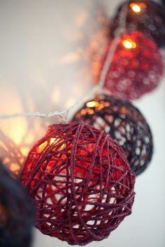 deco noel exterieur avec guirlande de Noël, comment decorer pour noel