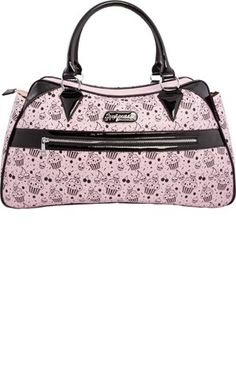 Light Pink Deadly Deville Purse by Sourpuss Clothing I really want this purse!!!
