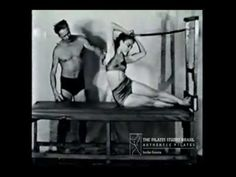Joseph Pilates Reformer Exercises Technique Original Workouts From Ancient of Pilates (Audio is in a different language) Pilates Video, Pilates Workout, Le Pilates, Pilates Training, Pilates Reformer Exercises, Pilates For Beginners, Beginner Pilates, Joseph Pilates, Studio Pilates