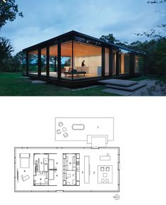 Modern Barn House, Villa, Floor Plans, Luxury, Design, Fork, Villas, Floor Plan Drawing
