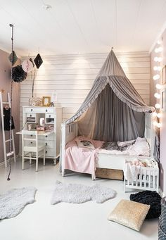Kids Room Ideas For Girls Toddler For Boys Modern.Haus Kinderbett Pengura In Wei Aus Kiefer Massivholz. Pink And Grey Girls Bedroom Ideas Childrens Room . Home and Family