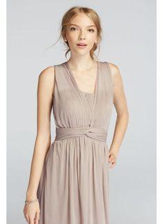 Short Convertible Mesh Dress with Pleats F18092