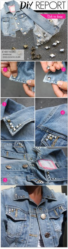 denim-studs diy