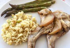 Nyúlcomb almával, gyömbérrel Risotto, Ethnic Recipes, Food, Bulgur, Essen, Meals, Yemek, Eten