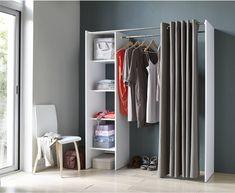 [Déco] Des idées pour emménager un dressing dans une chambre Baby Room, Diy And Crafts, Room Decor, Furniture, Studio, Standing Closet, Inspirer, Crisp, Organization