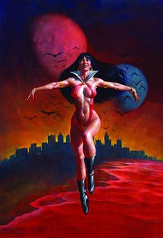 Vampirella by Mark Texeira