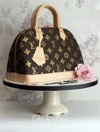 Louis Vuitton Handbag Cake - Cake by Louise Jackson Cake Design Louis Vuitton Torte, Beautiful Cakes, Amazing Cakes, Fashion Cakes, Unique Christmas Gifts, Fancy Cakes, Pink Cakes, Crazy Cakes, Creative Cakes