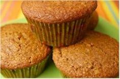 Oat Bran Muffins - Joyofbaking.com-good recipe. I cut in half and added sprinkle of sunflower seeds on top.