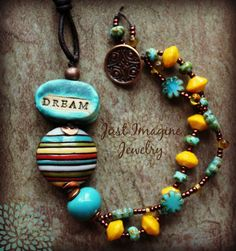 Sunshine Dreams by JustImagineJewelry on Etsy