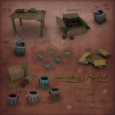 December Arcade - Zigana is my fav store in SL. LOVE these trinkets!