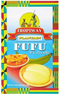 Tropiway Plantain Fufu Flour (680G)