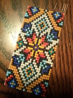 Bead loomed star