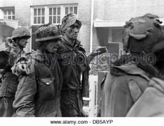 events, Second World War / WWII, Netherlands, Arnhem, 17. - 25.9.1944, soldiers of the British 1st Airborne Division - Stock Photo