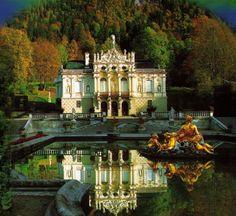 Linderhof Castle. Germany