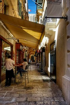 Walking through the little streets of Valletta │ #VisitMalta visitmalta.com