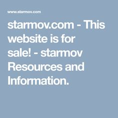 starmov.com - This website is for sale! - starmov Resources and Information.