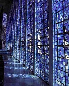 Design - Mosaicos e Memórias.  Igreja Dom Bosco em Brasília, Brasil. Projeto por…