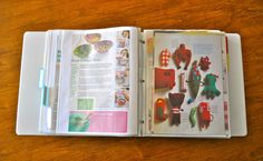 Make Life Lovely: How to Organize All Your Ripped Out Magazine Pages