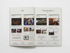 MagSpreads - Magazine Layout Design and Editorial Inspiration: Sydney Opera House Annual Report - Naughtyfish