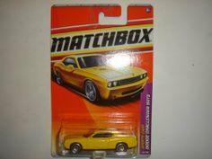 2011 Matchbox Dodge Challenger SRT8 Yellow #4 of 100 by Mattel. $3.47. 1:64. Sports Cars Series, #4 of 13. 2011